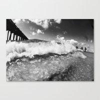 shore break Canvas Print