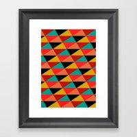 Ternion Series: Wintertide Jubilee Motif Framed Art Print