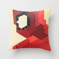 Geometric Spider-Man Throw Pillow