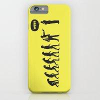 iPhone & iPod Case featuring WTF? Evolution! by Estudio Minga | www.estudiominga.com