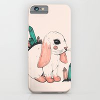 iPhone & iPod Case featuring Crystal Bunny by Ellie Craze