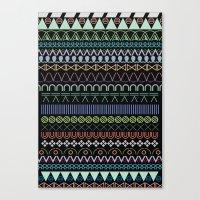 hitam tatam Canvas Print