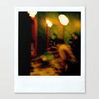 Polaroid Disaster Canvas Print