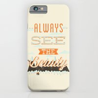 Always See The Beauty iPhone 6 Slim Case