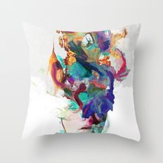 Let it out Throw Pillow