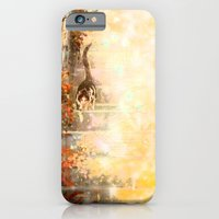 iPhone & iPod Case featuring Cat's Stroll by Priscilla Moore