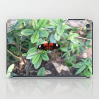 Butterfly Red iPad Case
