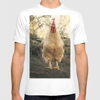 Gallo Chulo Mens Fitted Tee White SMALL