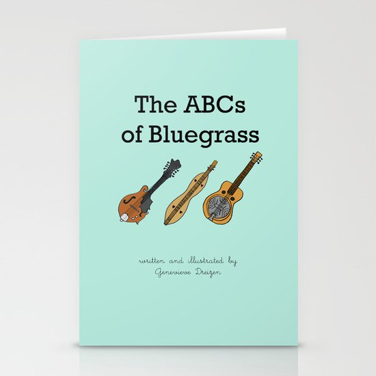 The ABCs of Bluegrass Stationery Card
