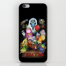 Zelda Time! iPhone & iPod Skin