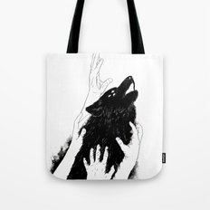 Wolves of Paris Tote Bag