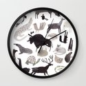 animaletti Wall Clock