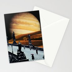 Old Prague in Winter Stationery Cards