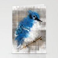 A Blue Jay Today Stationery Cards