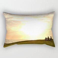 St Kilda Sunset Rectangular Pillow