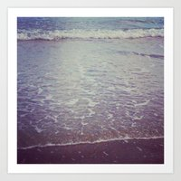 WINTER SEA I Art Print