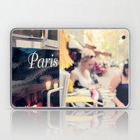 Paris street scene Laptop & iPad Skin