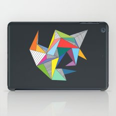Abstract Triangles iPad Case