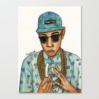 Tyler, The Creator Canvas Print