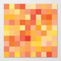 Rando Color 2 Canvas Print