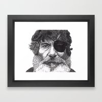 Jack Framed Art Print
