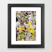 Shredded  Framed Art Print