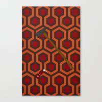 The Shining Carpet Canvas Print