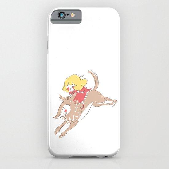 Caperucita de paseo iPhone & iPod Case