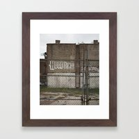 Future Home Of The Brook… Framed Art Print