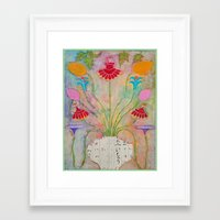 Spring Symphony Framed Art Print
