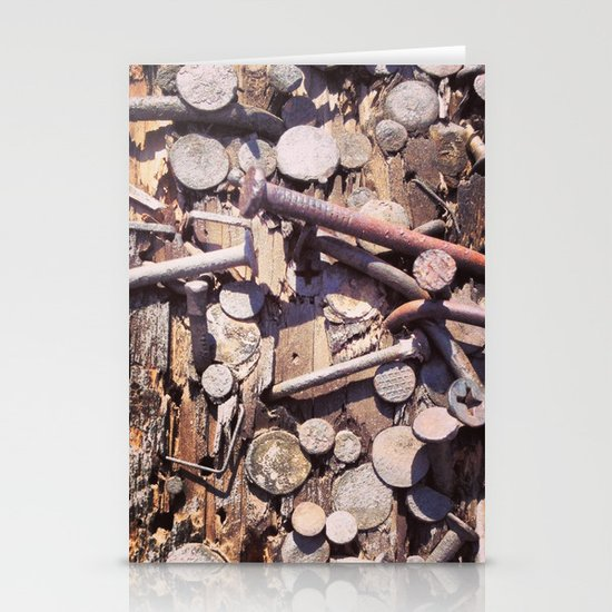 Nailed Texture Stationery Card