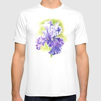 Iris Mens Fitted Tee White SMALL