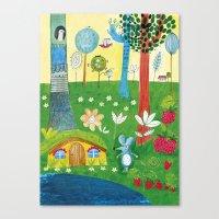 The Little Mouse Canvas Print