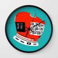 Life On Mars? Wall Clock