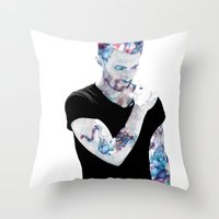 Adam Levine Throw Pillow