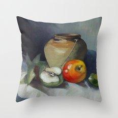 dead nature Throw Pillow