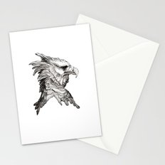Hawk profile  Stationery Cards