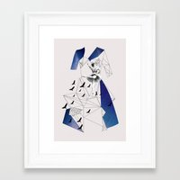 Filled With Stars Framed Art Print