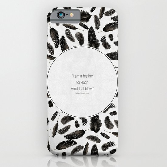 A feather for each wind that blows iPhone & iPod Case