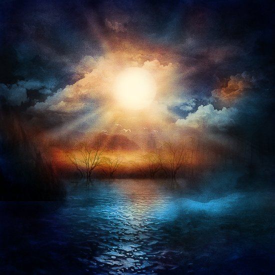 When the sun speaks Art Print