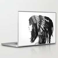 indian Laptop & iPad Skins featuring Indian by Peter Fulop