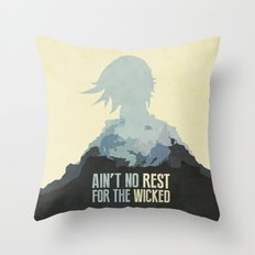 Borderlands 2 - Ain't No Rest for the Wicked Throw Pillow