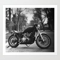 Yamaha Art Print