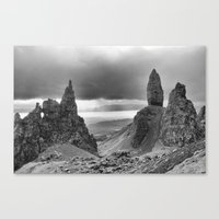 The Old Man Of Storr. Canvas Print