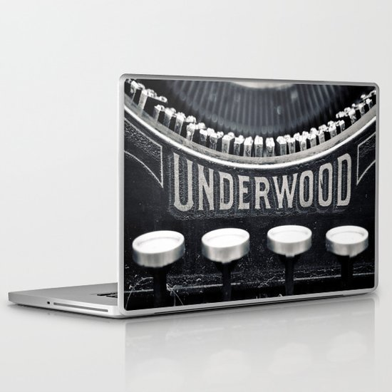 Underwood Laptop & iPad Skin