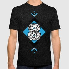 8 Brain Mens Fitted Tee Tri-Black SMALL
