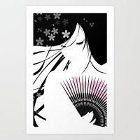 Asian Obsession Art Print