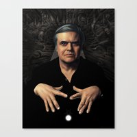 HR Giger Canvas Print