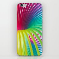 Rainbow Spring 7 iPhone & iPod Skin