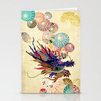 Chinese Lunar New Year and 12 animals  ❤  The DRAGON 龍 Stationery Cards